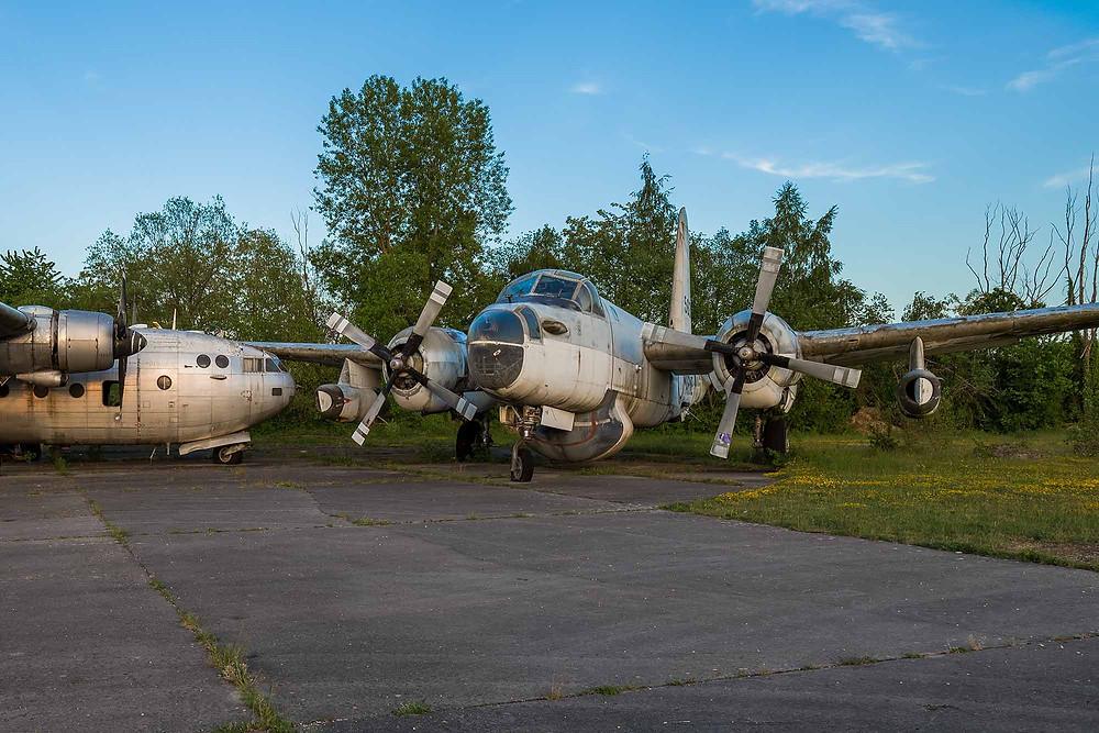 Forladt Lockheed P-2 Neptune