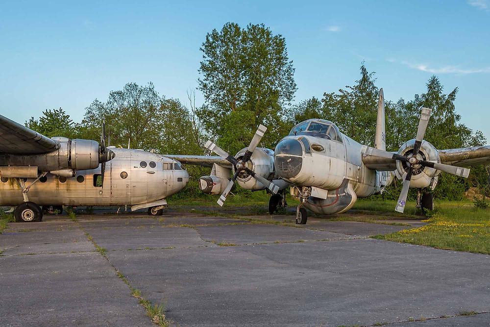 Abandoned Lockheed P-2 Neptune