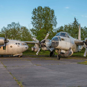 Abandoned military aeroplanes in France
