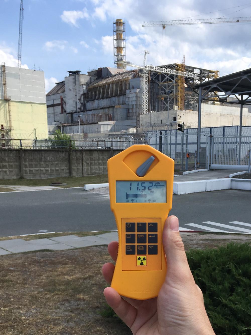 Kraftværket hvor Tjernobyl ulykken skete