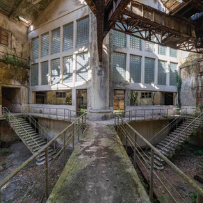 Power plant V: Abandoned and decayed power plant