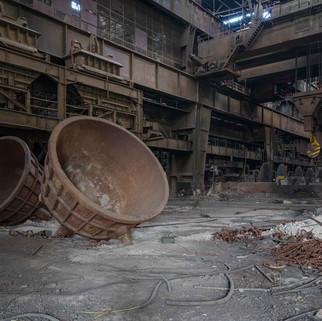 Heavy Metal: Abandoned steelworks in Belgium
