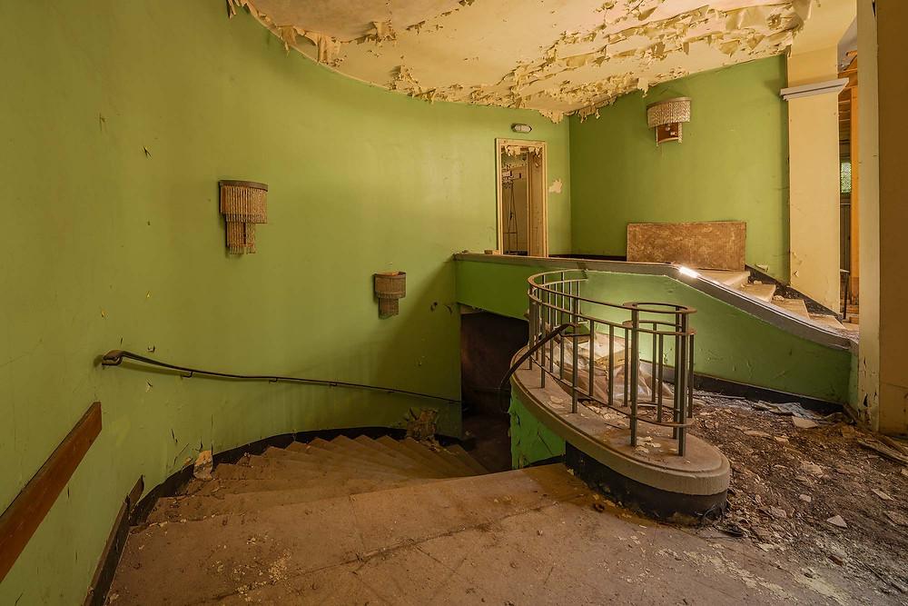 Abandoned Hotel Fürstenhof decaying