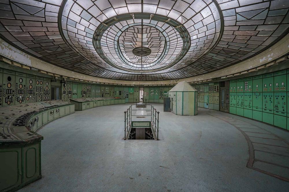 Abandoned Kelenföld power plant