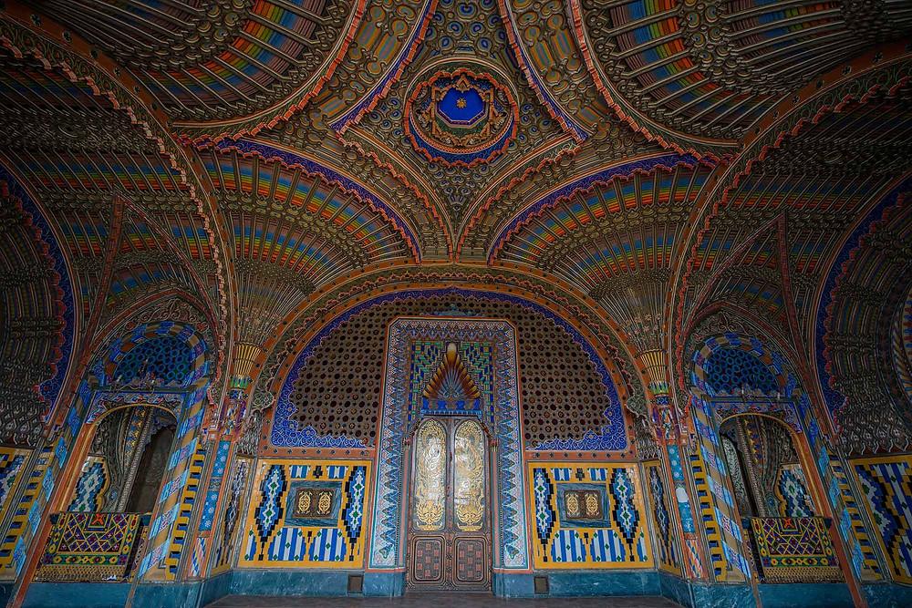 Peacock room på et forladt slot