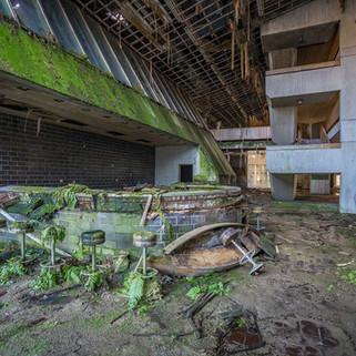 Forladt skole i Østeuropa: Green school