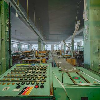 Forladt tøjfabrik i Østtyskland: Textilfabrik Limbach