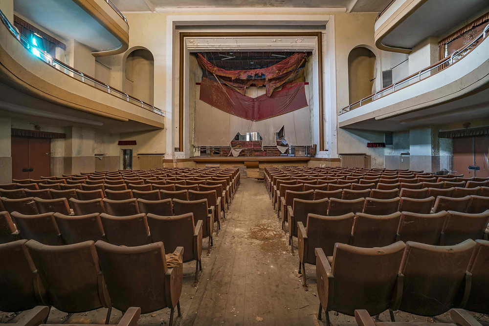 Abandoned Teatro Guido in Italy