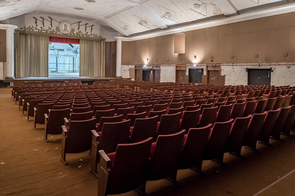 Forladt Sovjet teater