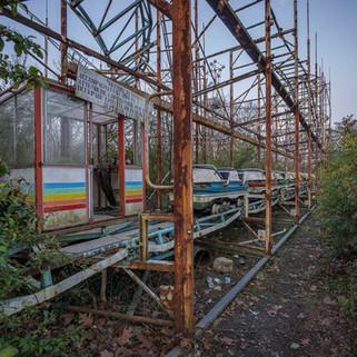 Forladt forlystelsespark i Italien