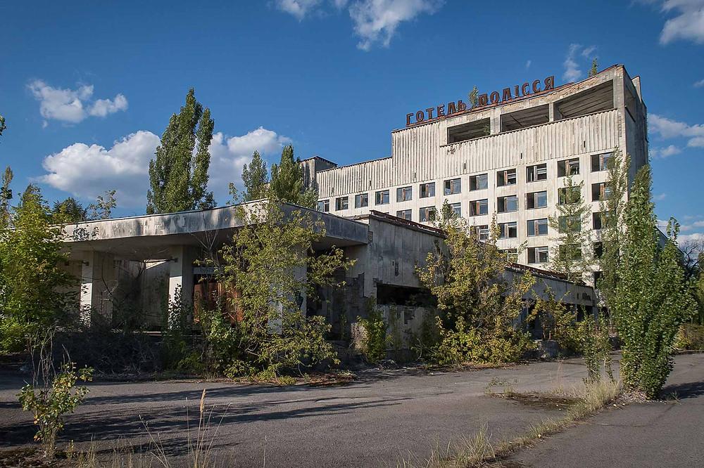 Chernobyl main square
