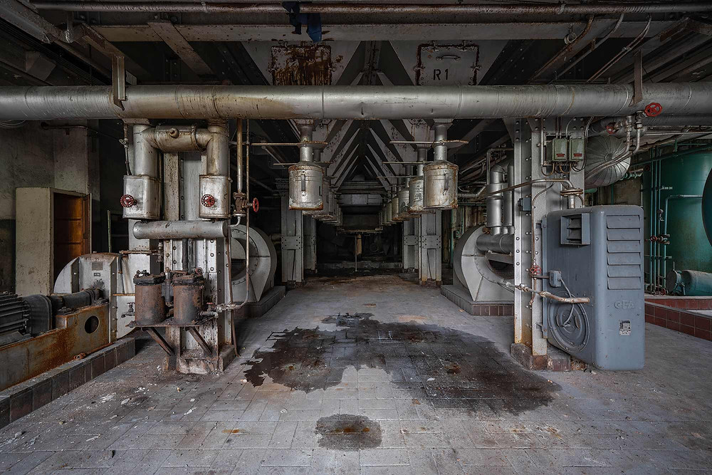abandoned power plant in germany