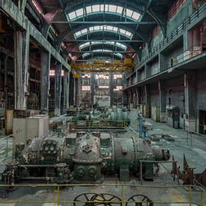 Decayed Power Plant in Italy