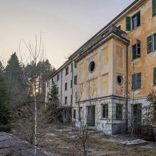 Forladt sanatorium i Italien