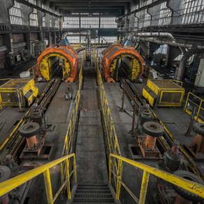 En af de sidste kulminer i Tyskland: Bergwerk W