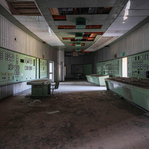 Centrale Termoelettrica: Abandoned power plant in Italy