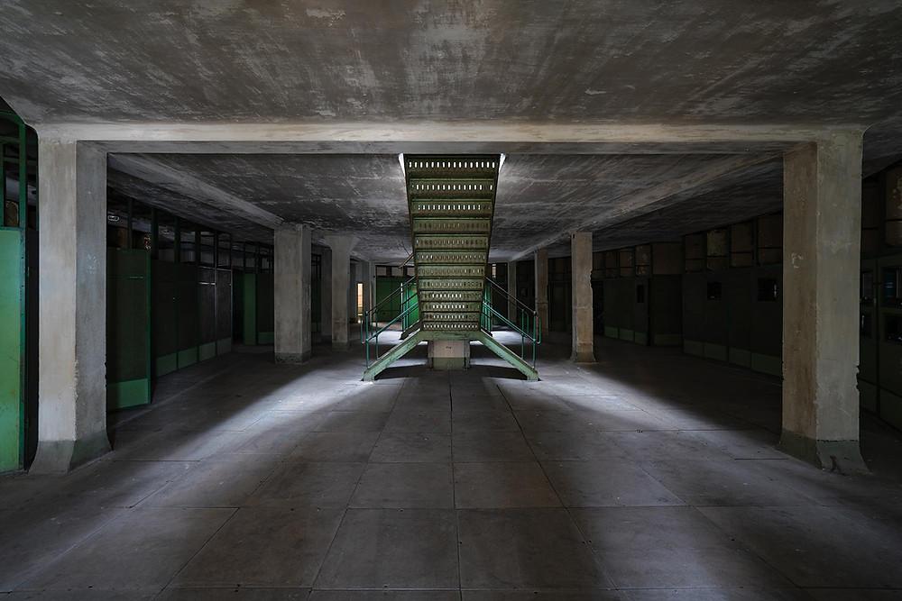 Forladt kraftværk i Ungarn
