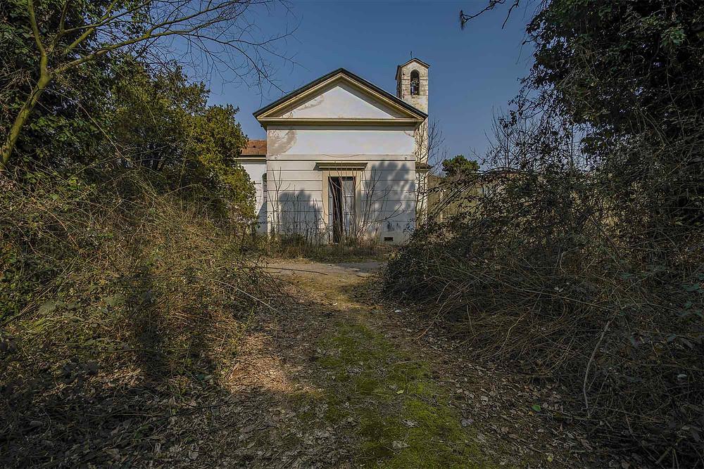 Kirke på forladt hospital