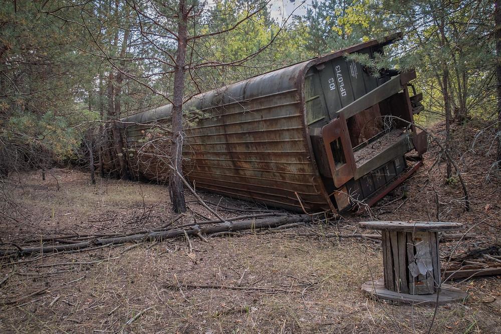 Tog efter Tjernobyl ulykken