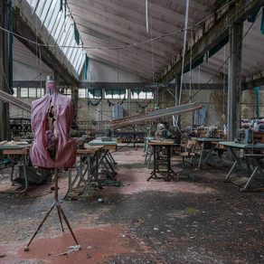 Knitting Factory: Abandoned in Italy