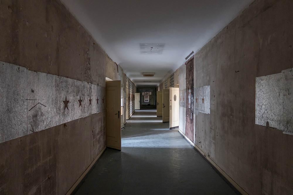 Abandoned soviet Haus der Offiziere
