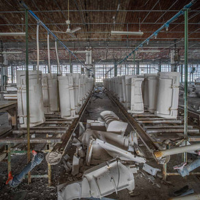 Army of Xian: Abandoned porcelain factory