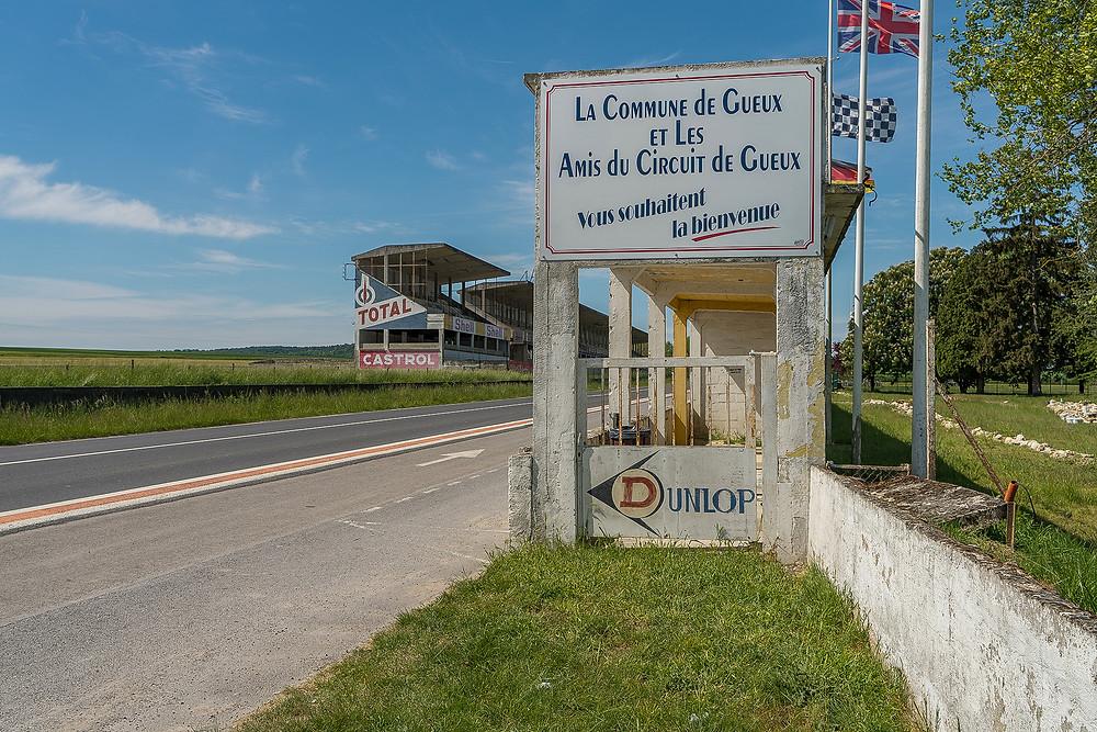 Forladt racerbane Circuit de Reims Gueux