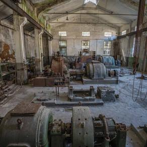 En masse forfald i det gamle kraftværk: Powerplant Cyklonkessel