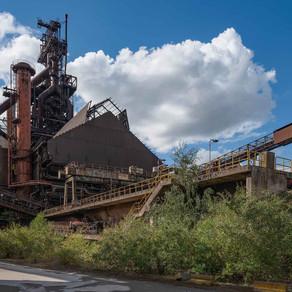 HFB: Abandoned blast furnace in Belgium
