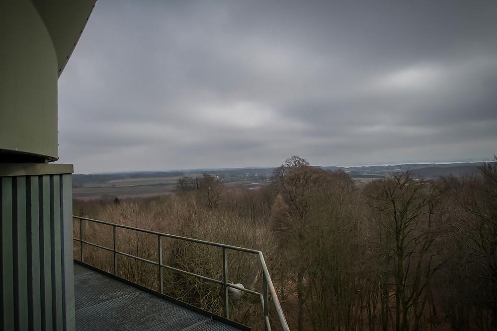 Radar station exterior in Denmark
