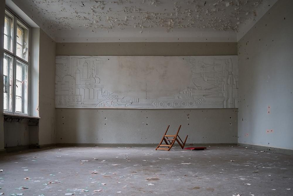 Sovjet kunst forladt kaserne