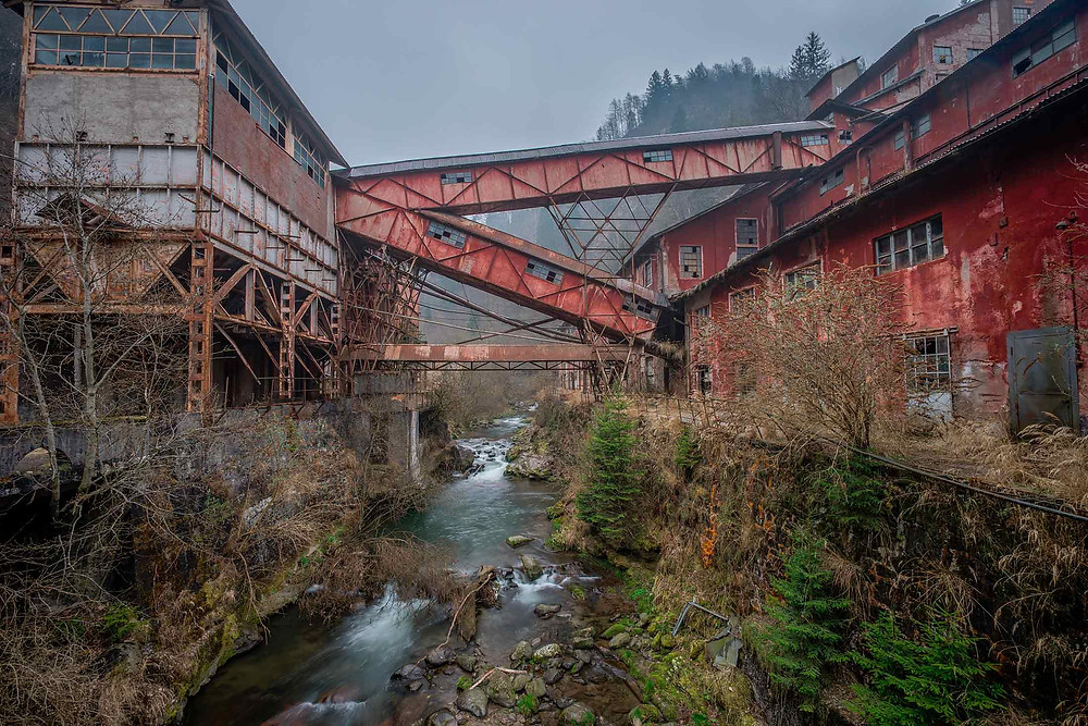 Abandoned mine in Italy