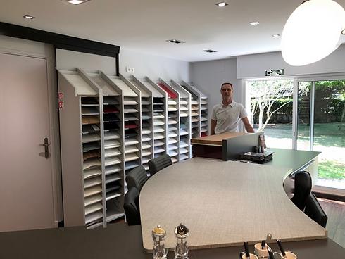 showroom du concepteur de cuisine Cuisines Delaunay _cuisiniste.