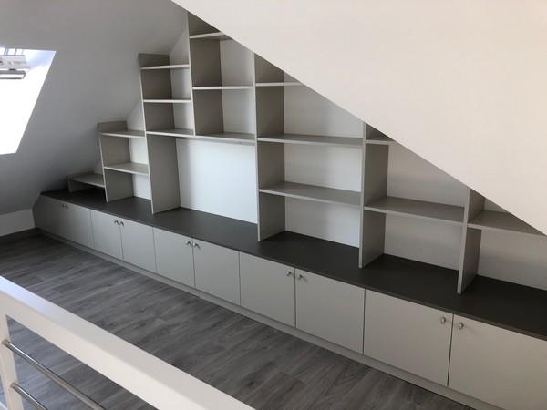 aménager combles _ meubles sous rampant