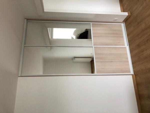 placard de chambre avec miroirs