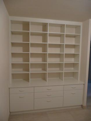 Dressing etagere et tiroirs