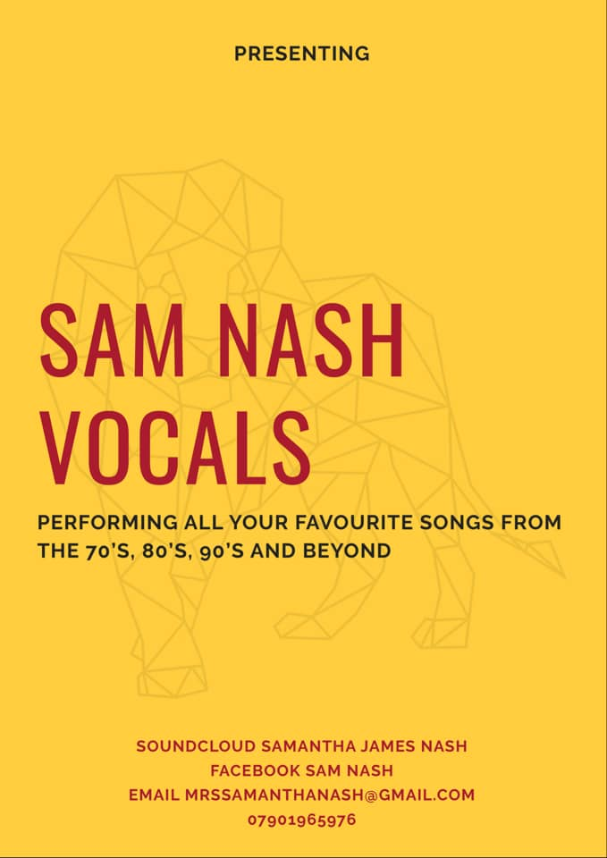 Sam Nash Vocals
