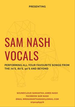 Sam Nash Vocals