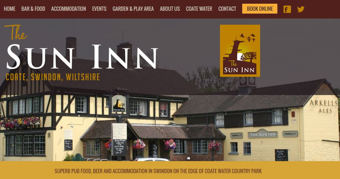 The Sun Inn @ Coate Water