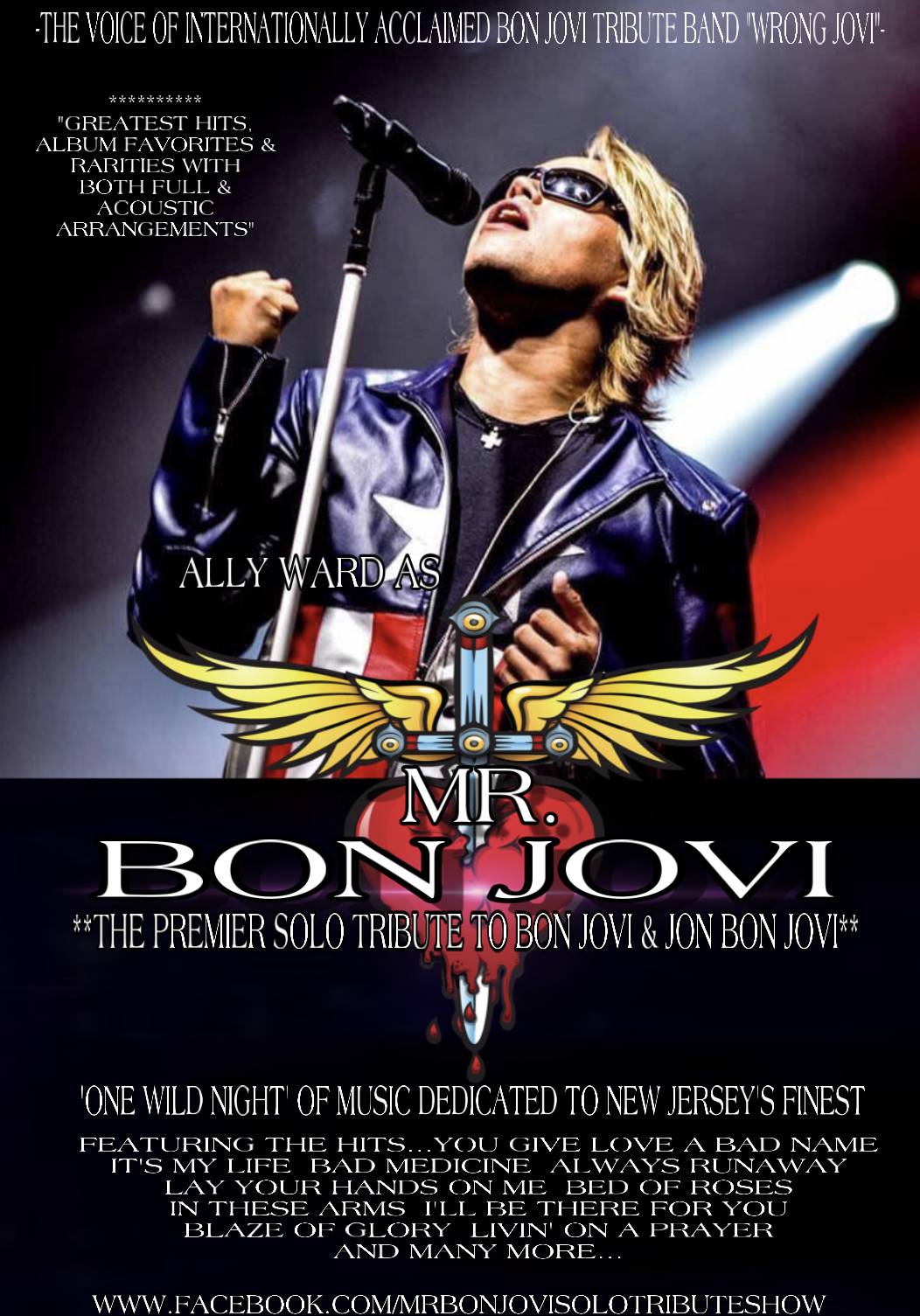 MR Bon Jovi - Solo LIVE & UNPLUGGED acou