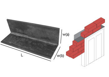 Steel Angle Lintel