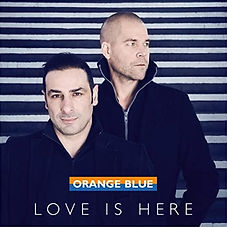Orange_Blue_love_is_here_single_cover.jp