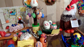 """В храме св. ап. Петра и Павла п. Селижарово прошел конкурс """"Пасхальное яйцо"""""""