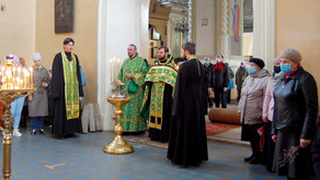 Торжественное богослужение в г. Осташкове