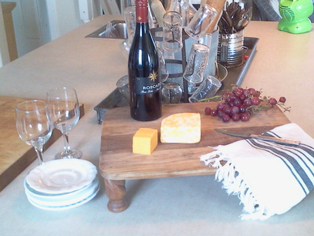DIY Wine and Cheese Board