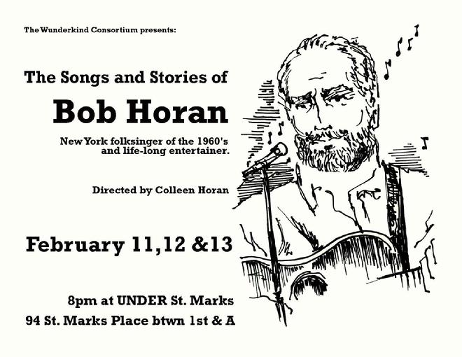 The Songs and Stories of Bob Horan