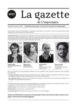 Gazette n°17