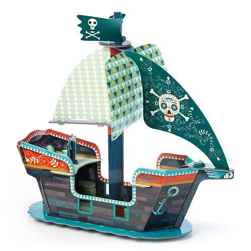 POP TO PLAY : Bateau pirate 3D