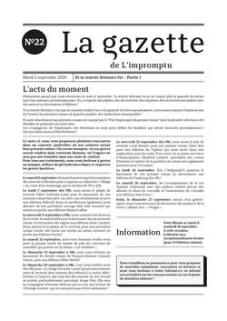 Gazette n°22