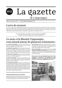 Gazette n°12